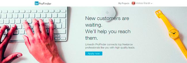 LinkedIn ProFinder image