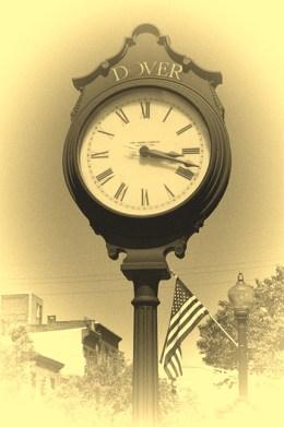 Clock, representing time