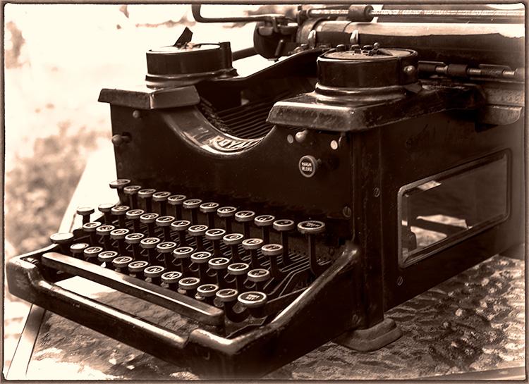 Photo of Royal Typewriter on Frugal Guidance 2