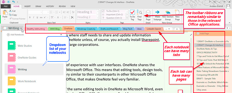 The OneNote Design