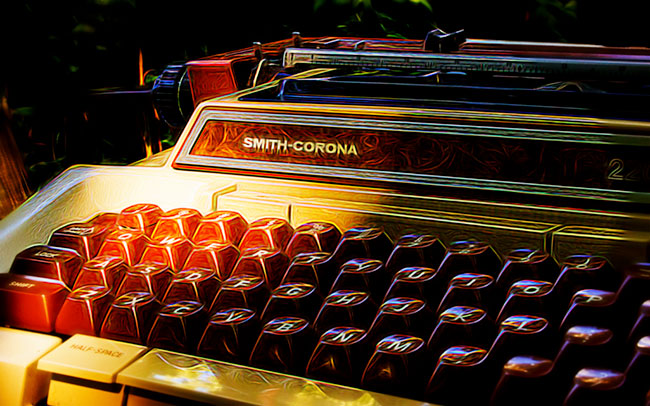 Another Smith-Corona typewriter