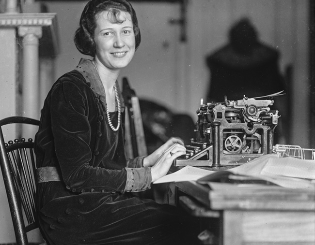 A Happy Writer, 1920s