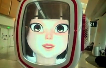 Amelia, the customer service robot