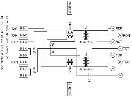 Rj45 Ethernet Schaltplan