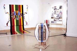 Relational Art - mfa show Breathing Machine andy cline artist