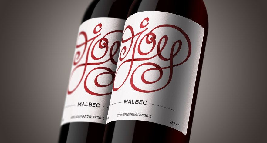 Personalised wine label design and branding