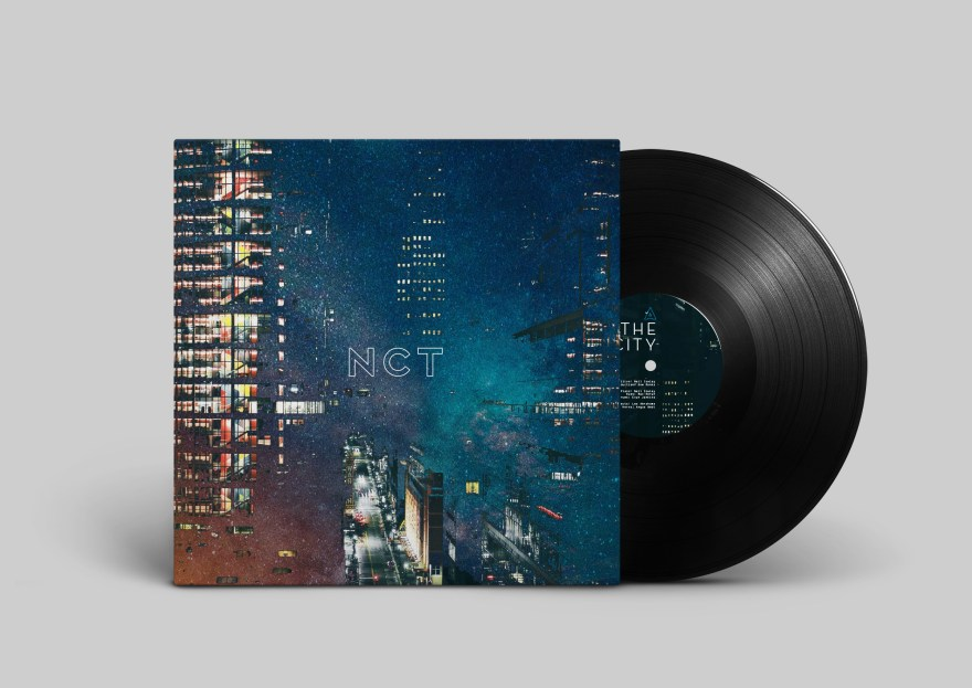 Neil Cowley Trio - The City & The Stars Sleeve Design
