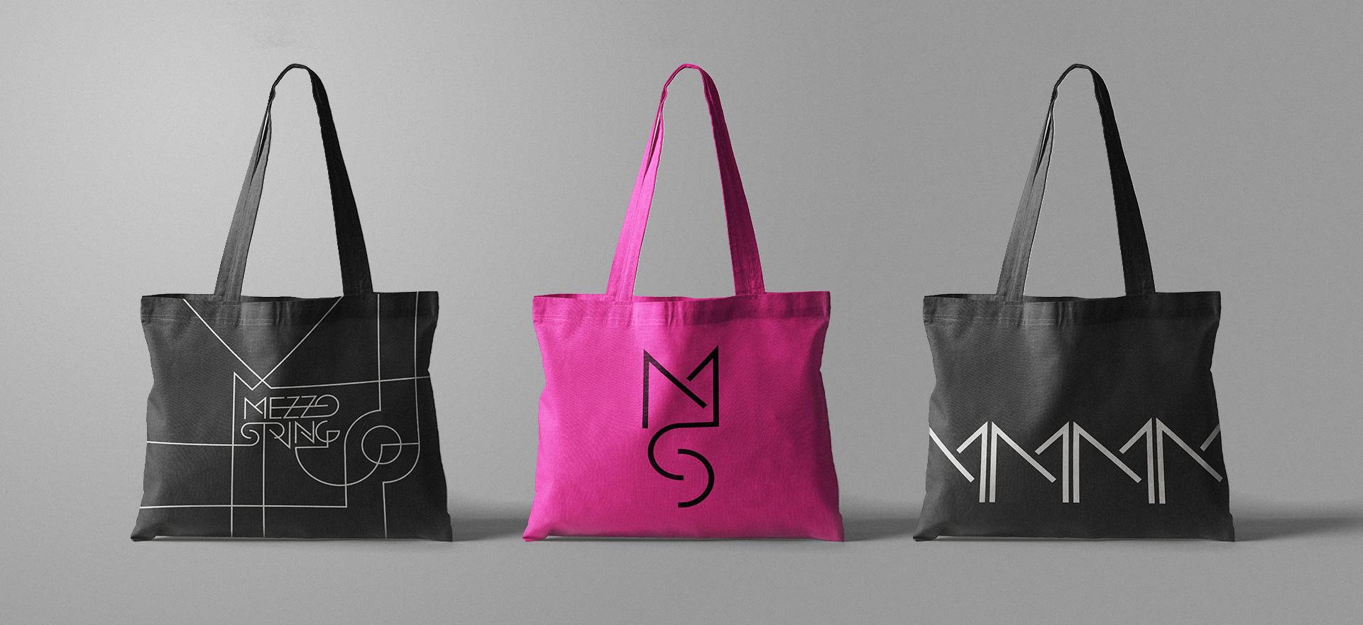 Mezzo String Logo & Identity Design