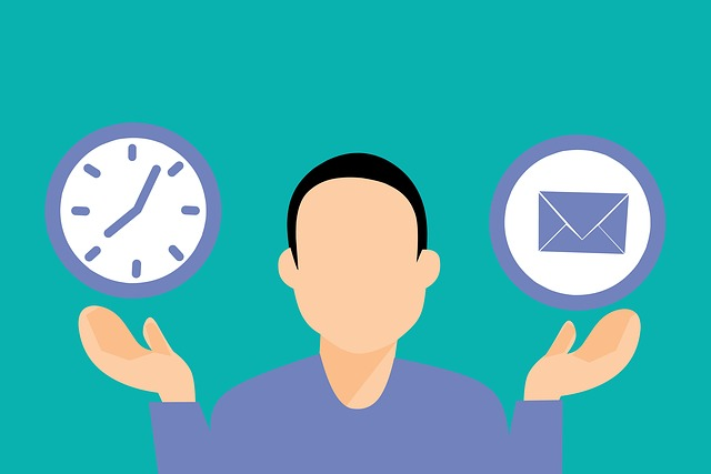 Circle Mail Email Marketing Time