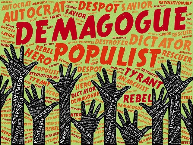 Demagogue Populist Autocrat