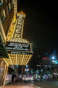 Architectural photography-Saenger Theatre