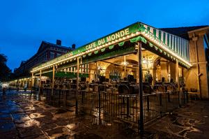 Cafe du Monde HDR photography