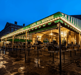 New Orleans HDR photography-Cafe du Monde