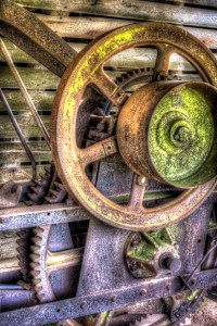 Farming equipment photography