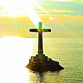 """edward musiak """"cross in sea"""""""