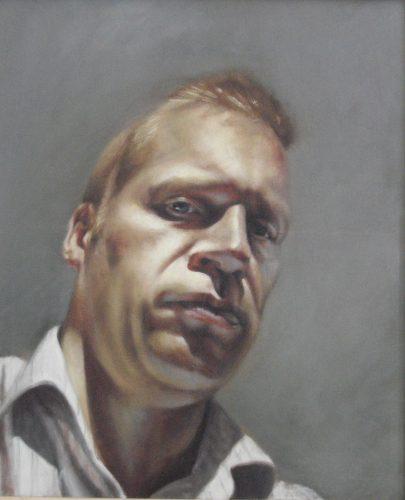 Self-Portrait (Oil on Canvas 50cm x 60cm)