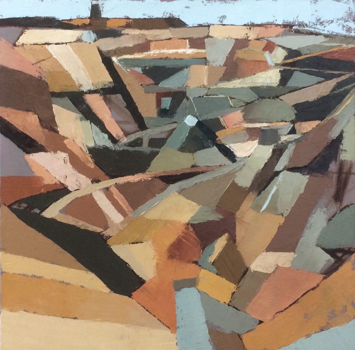 Parys Mountain 20180706 (Oil on canvas 60cm x 60cm)
