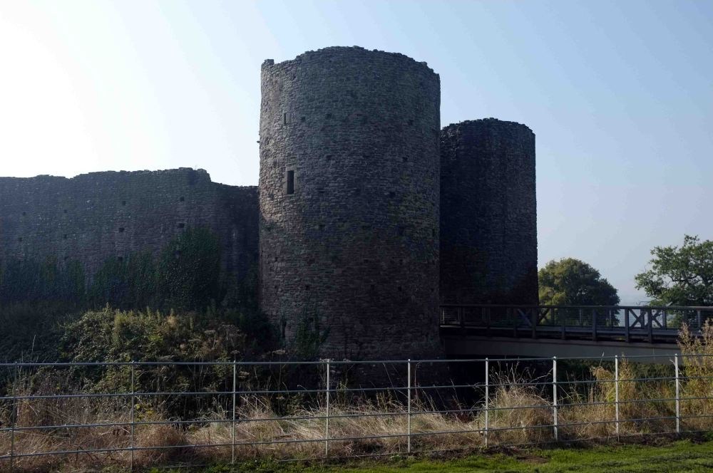 Castles not far from Monmouth (1/6)