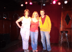 Andy performs at Three Clubs in Hollywood with Karen Knotts (daughter of comedy legend Don Knotts) & the hilarious Ashley Huyge!