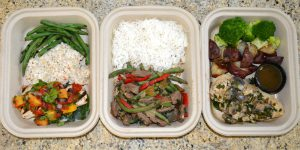 3 No Pots & Pans meals in containers