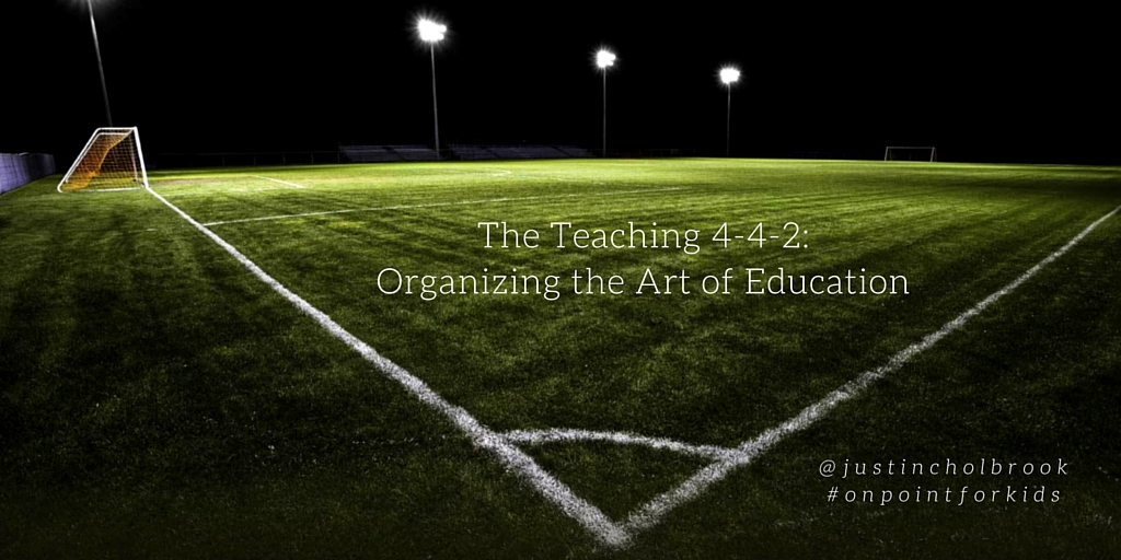 The Teaching 4-4-2: Organizing the Art of Education