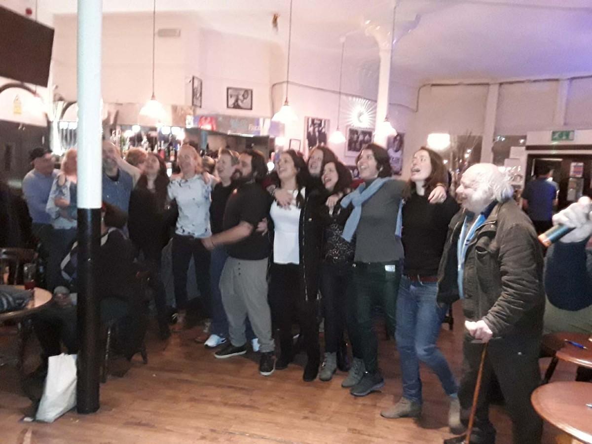 Birthday karaoke party