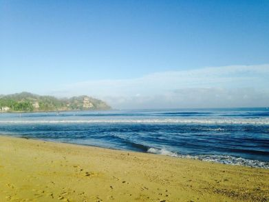 The calm before the storm! Sayulita beach 4th May