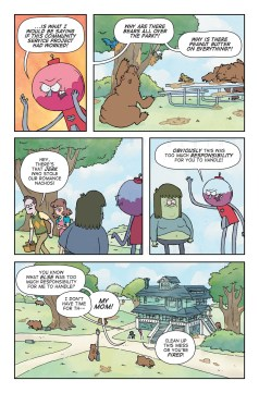 'Regular Show Annual #1'