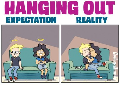 Collegehumor, 'Expectation vs Reality: Staying Friends with Your Ex'