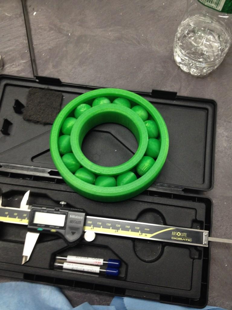 """""""3D Printing"""", 3d Printed Bearing"""