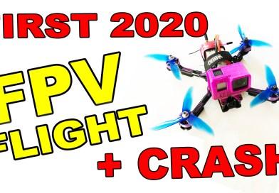 epic fpv drone fail crash