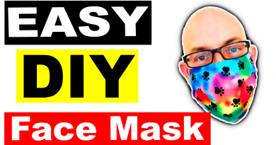 How To Sew A DIY FACE MASK