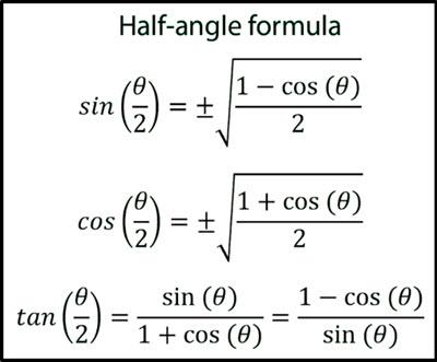 Double-Angle and Half-Angle Formulas   andymath.com