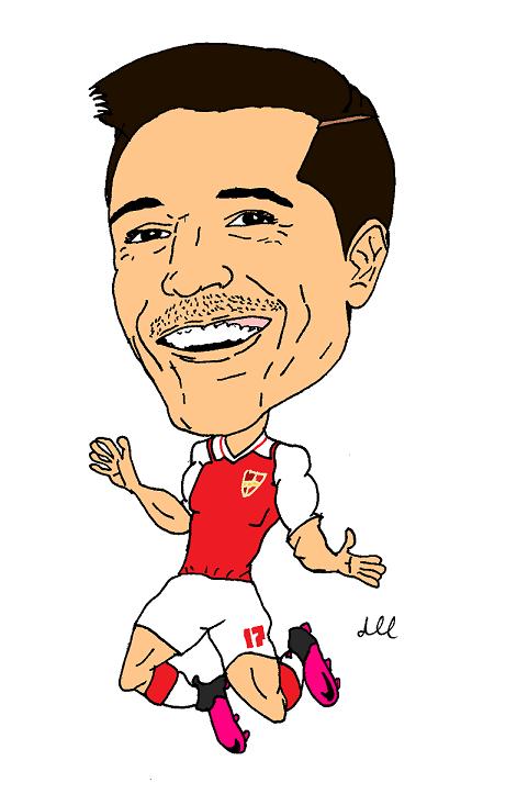 Caricatures  FootballSoccer  awaydrawcom