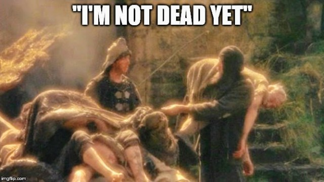 I'm Not Dead Yet! – Andy McPhee