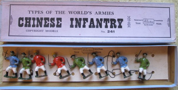 Britains set 241, Chinese infantry.