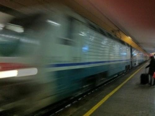 Night Train Vienna to Brescia Italy 2012 - 18