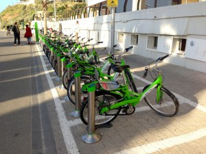 Tel-o-Fun bike sharing in Tel Aviv Yafo