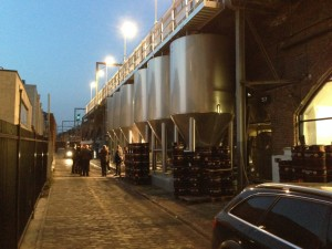 Camden Town Brewery London - Tour in progress.