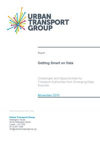 Transport Data – Challenges and Opportunities