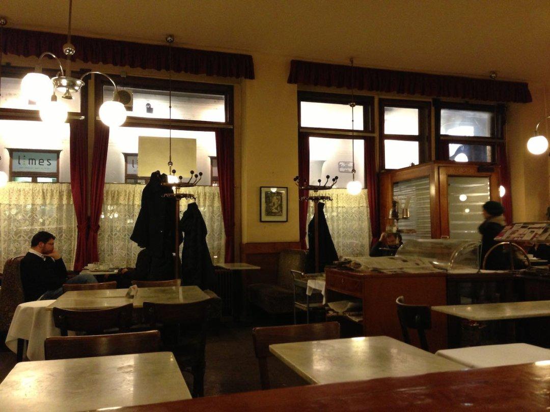 Photo of Vienna cafe interior