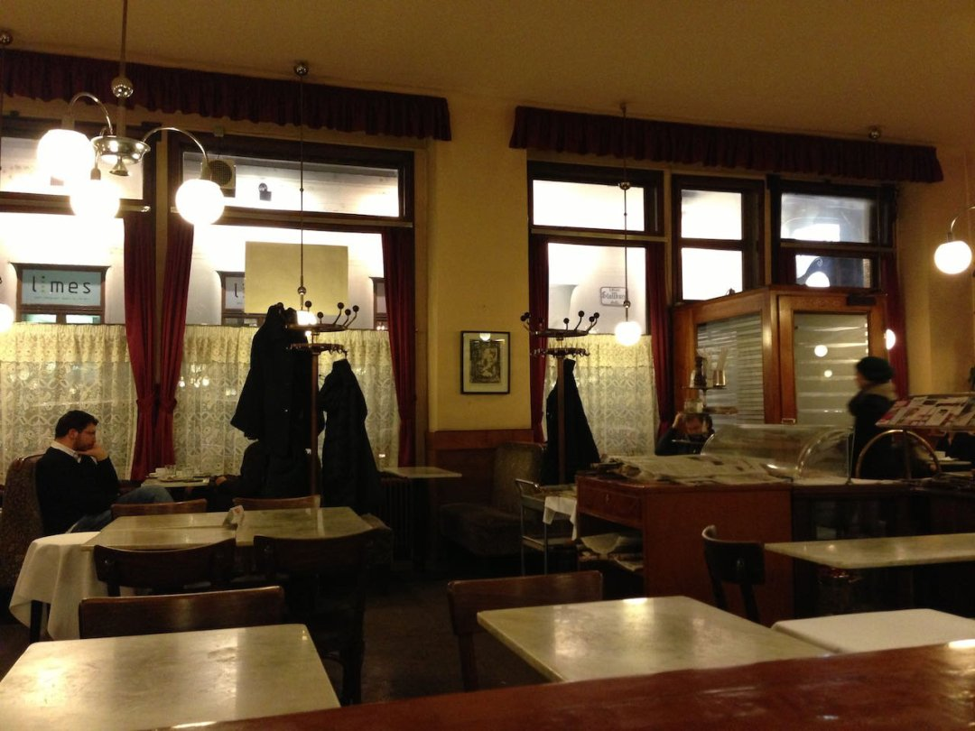 Photo of Vienna cafe interior