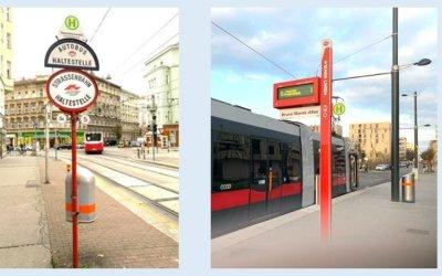 Wiener Grantig: New Bus-Tram Stop Signs