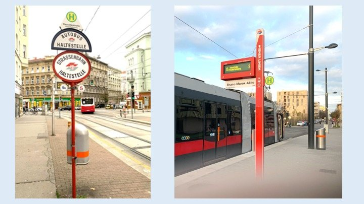 Wiener Grantig: New Bus-Tram Stop Signs