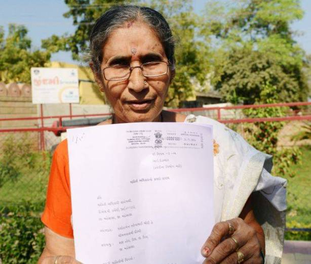 Jashodaben files appeal after police deny info under RTI