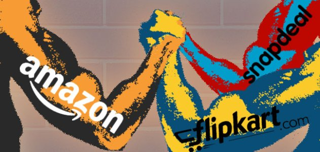 flipkat-vs-snapdeal-vs-amazon - Game of Prices