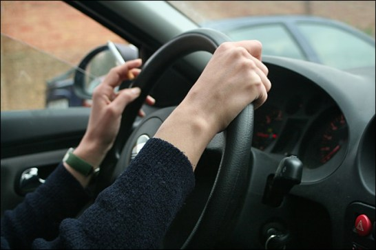 Smoking in the car