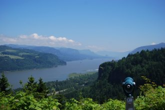 Columbia Gorge from Crown Point - courtesy of Travel Oregon.