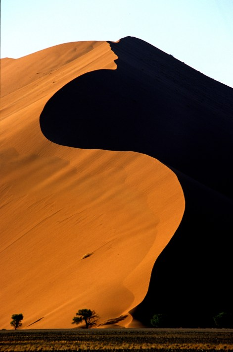 Sossusvlei sand dune - picture courtesy of Namibia Tourist Board.