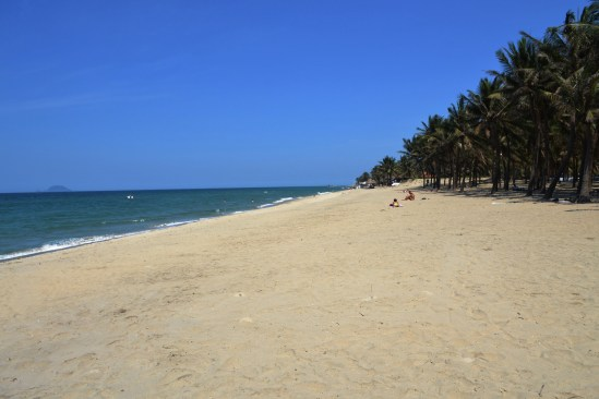 Cua Dai Beach at Hội An was pristine. One of the best I've seen.